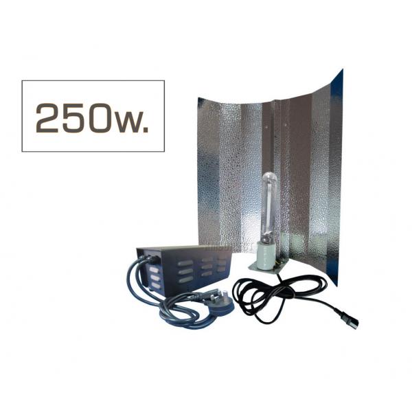 სოდიუმის კომპლექტი: 250 W.