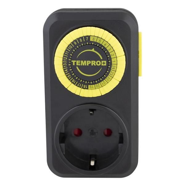 TEMPRO - ანალოგური ტაიმერი [ელექტროენერგიის] -24სთ