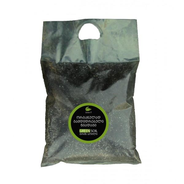 ორგანული ნიადაგი -  3ლტ. - Green Soil