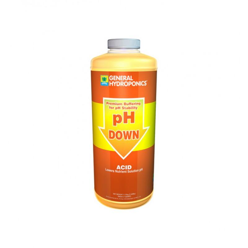 GH PH DOWN - 100მლ- General Hydroponics